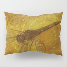 Dragonfly in Amber Pillow Sham