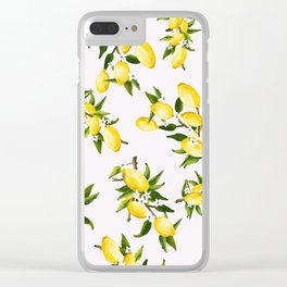 life gives ya lemons Clear iPhone Case