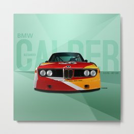 1975 3.0 CSL - Calder Art Car Metal Print