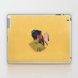 Untitled (soldier, gold) Laptop & iPad Skin