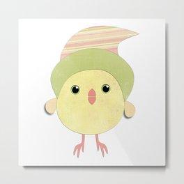 Cheep Bird Metal Print