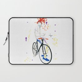 Bicycle Another Life-Cycle Laptop Sleeve