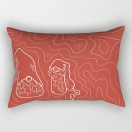 Groovy Gnomes Rectangular Pillow