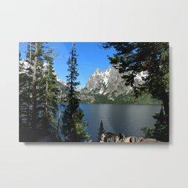 Jenny Lake Serenity Metal Print