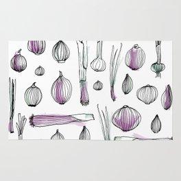Onion harvest Rug