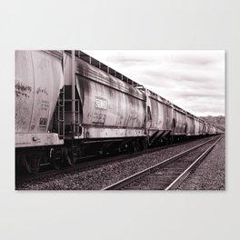 Long Train Canvas Print