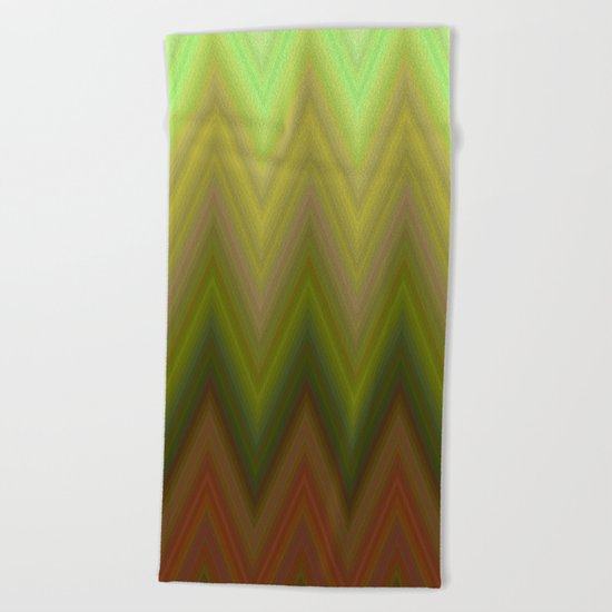 Soil chevron Beach Towel
