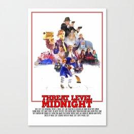 The Office - Threat Level Midnight Canvas Print