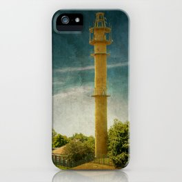 DE - Niedersachsen Old lighthouse in Schillig iPhone Case