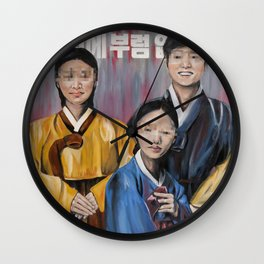 Defectors Wall Clock