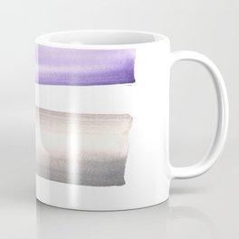 Violet Black |Watercolor Brush Stroke |watercolor home decor Coffee Mug