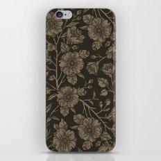 Midnight Blooms iPhone Skin