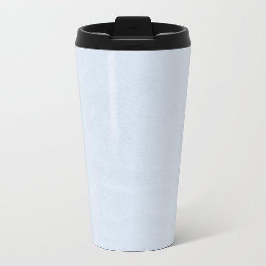Simply Sky Blue Metal Travel Mug