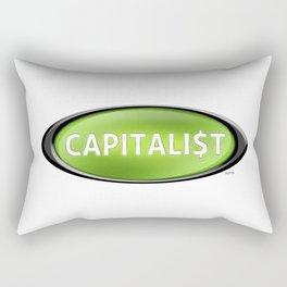 Capitalist Rectangular Pillow