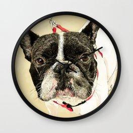 French Bulldog II Wall Clock