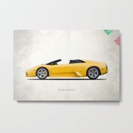 The Murcielago Metal Print