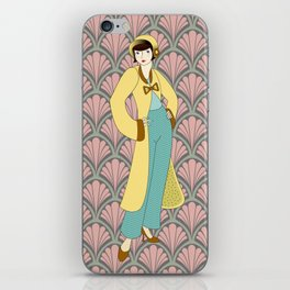 Flapper ready for the new Roaring Twenties! (8) iPhone Skin
