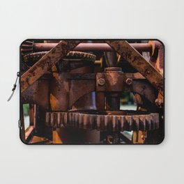 Gears of The Old Rusty Ship Crane Laptop Sleeve