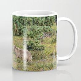 Kamchatka brown bears (mother and cub) Coffee Mug