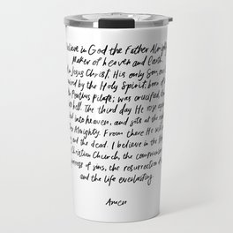 The Apostles' Creed Travel Mug