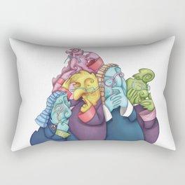 Thoughtful Lawyers Rectangular Pillow