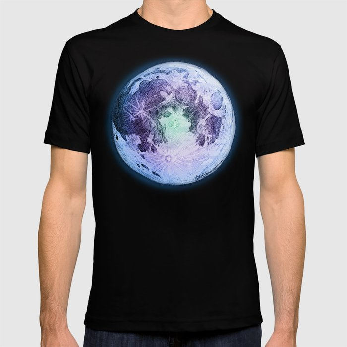 Pastel Moon T-shirt