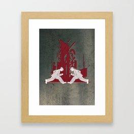 Politika Framed Art Print