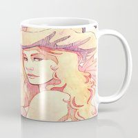 witchcraft Mugs featuring Witchcraft by Souzou Inc