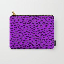 Bats in the Belfry-Purple Carry-All Pouch