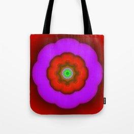 Fractal FlowerPower Tote Bag