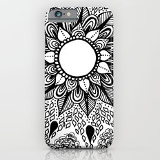 Black and White Doodle 2 iPhone 6s Slim Case