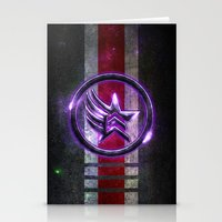 n7 Stationery Cards featuring N7 Paragade/Renagon by Toronto Sol