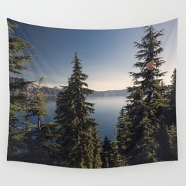 Through the Pines Wall Tapestry