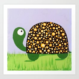 Joy Turtle Art Print