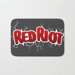 Red Riot! Bath Mat