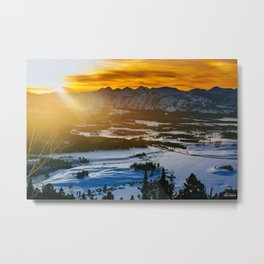 Headwaters Metal Print