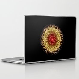 """Laptop Skin """"Mandala - Golden Eye"""" Laptop & iPad Skin"""