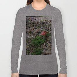 fly agaric mushroom Long Sleeve T-shirt