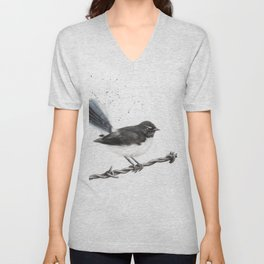 Centenary Willy Wagtail Unisex V-Neck
