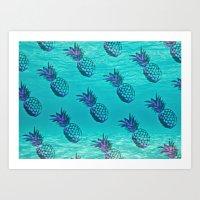 Oceana Apple Art Print