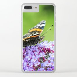 Butterfly V Clear iPhone Case