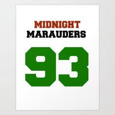 Midnight Marauders Art Print