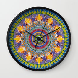 Summer in KB/Juicy/The Yellow One Wall Clock