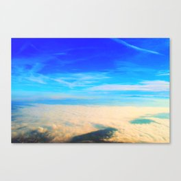 Sky love Canvas Print
