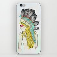 hunting iPhone & iPod Skins featuring Hunting // by Lukka