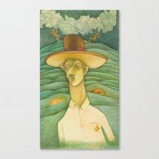 Florentino y el Diablo Canvas Print