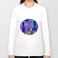 dots Long Sleeve T-shirts featuring Dots by Aloke Design