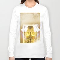 actor Long Sleeve T-shirts featuring Robert Pattinson - Actor by Sherazade's Graphics