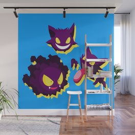 PokemonGhosts Wall Mural