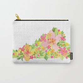 Virginia Tropical - Painted States Series Carry-All Pouch